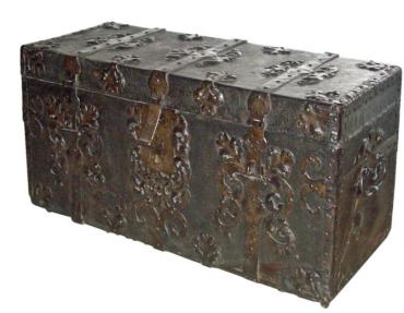 iron chest